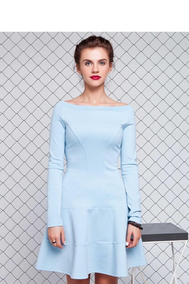 Denní šaty model 74906 - GrandUA - 44 - sv.modrá