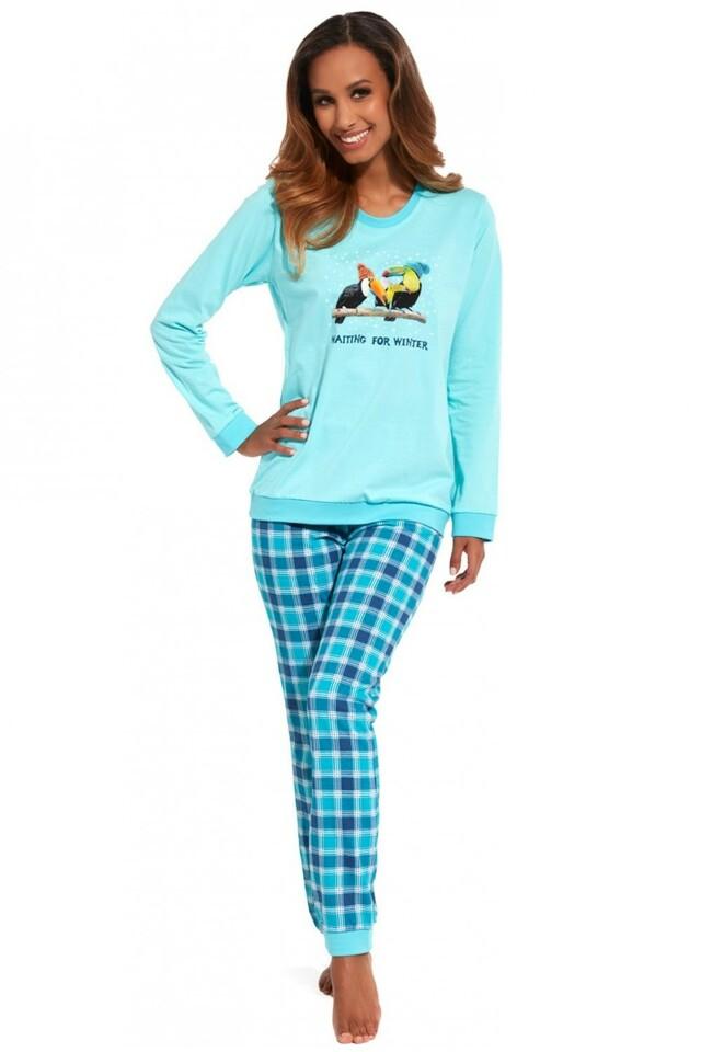 Dámské pyžamo 671/127 Toucan - M - tyrkysová