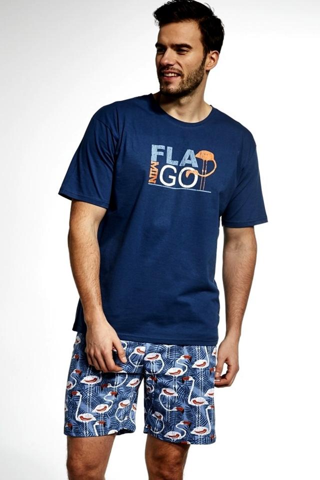 e312f4177 Pánské pyžamo 326/70 Flamingo - L - džínová