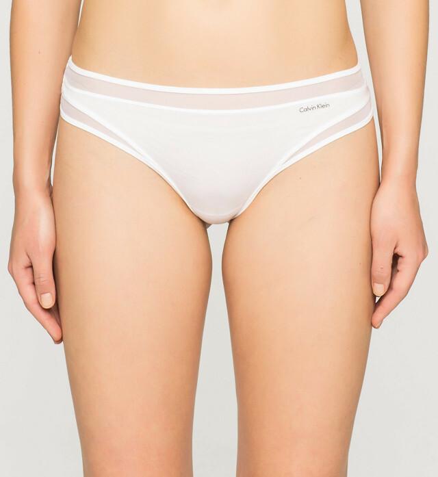 Tanga Naked Touch QF1129E bílá T|O Calvin Klein
