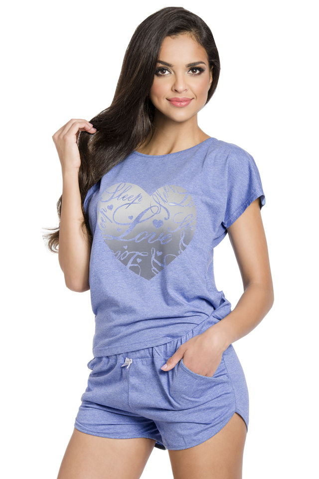 Dámské pyžamo Jurata modré - XL