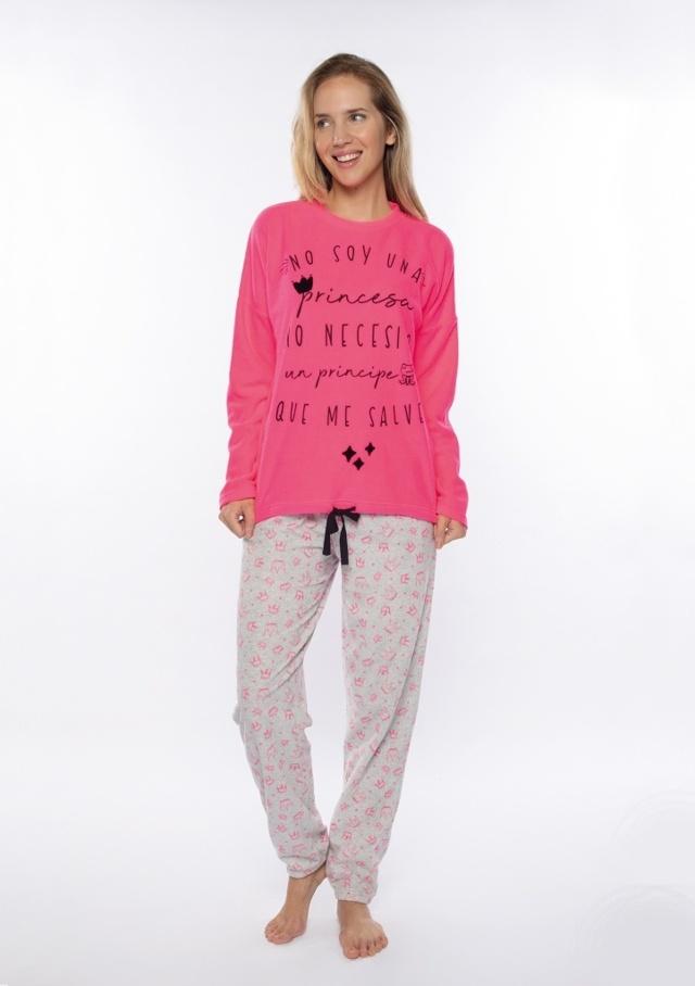 Dámské pyžamo Muydemi 210207 - L - RůžováP