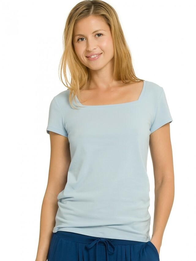 Dámské tričko QS1687E - Calvin Klein - M - sv.modrá