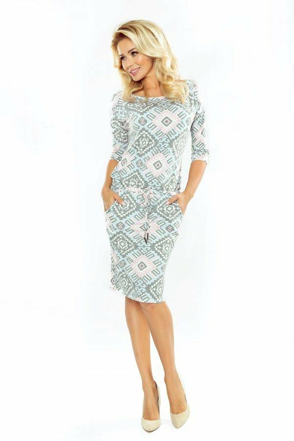 Dámské šaty 13-70 - Numoco - XXL - vícebarevná