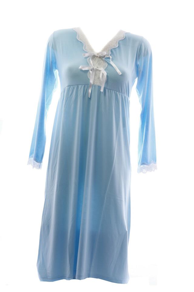 Dámská noční košile 3688 - Vamp - 40 - modrá