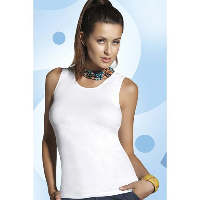 Dámská košilka Alita white - BABELL - L - bílá