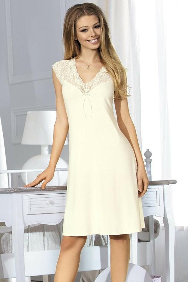 Noční košile Hannah - XL - krémová