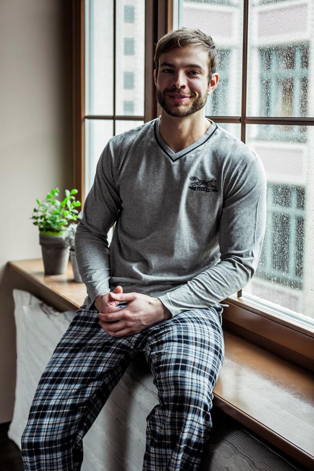 Pánské pyžamo MNS 456 - KEY