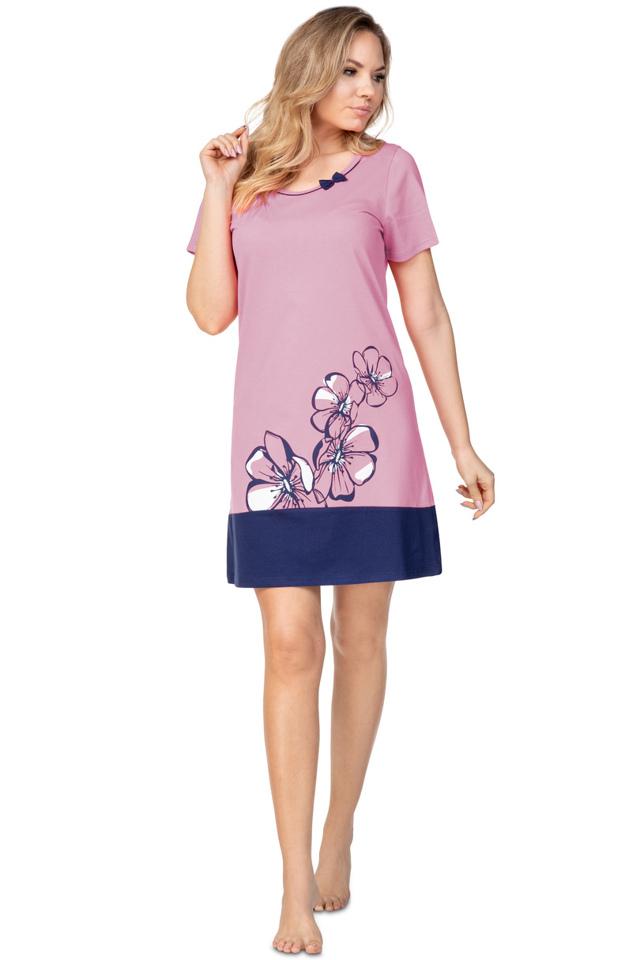 Dámská noční košile 396 - M - fialová