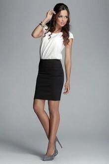 Dámská sukně M084 - Figl - M - černá