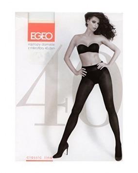 Punčochové kalhoty microfiber 40 den - Egeo - 2 - černá