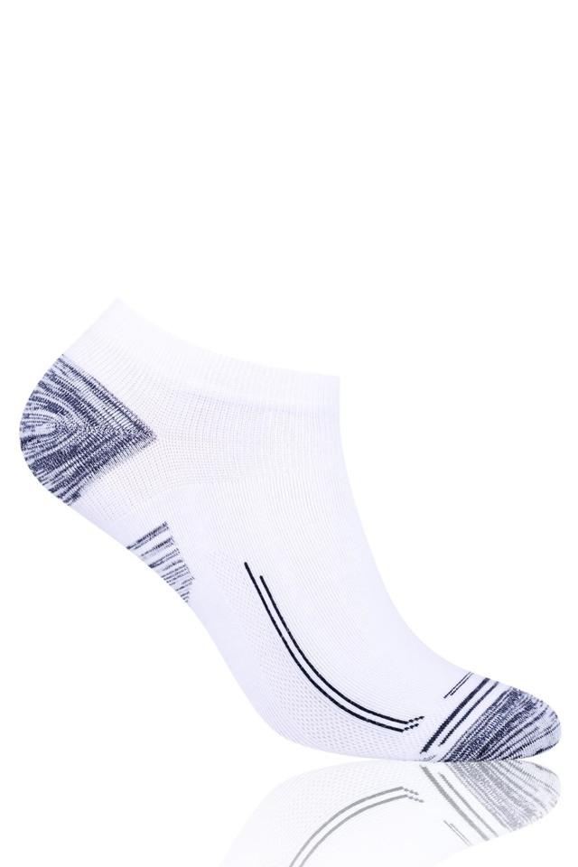Pánské kotníkové ponožky Steven 101-III - 38-40 - bílá-jeans f77d39e582