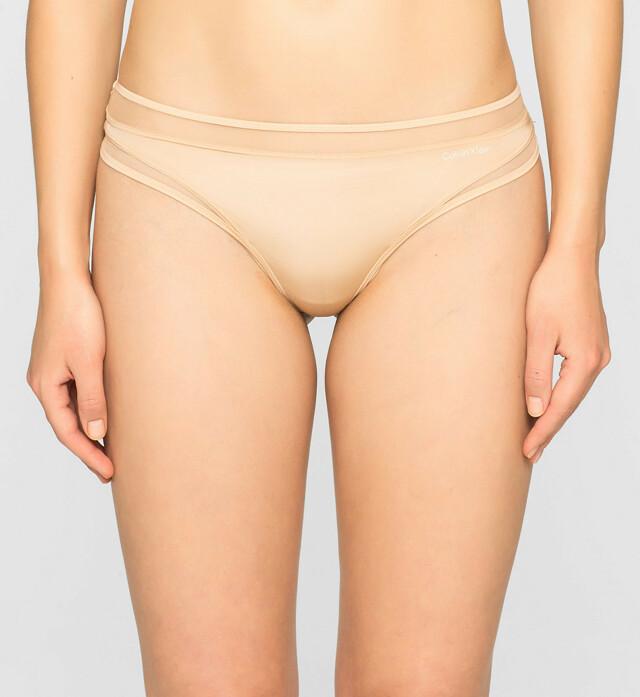 Tanga Naked Touch QF1129E tělová T|O Calvin Klein