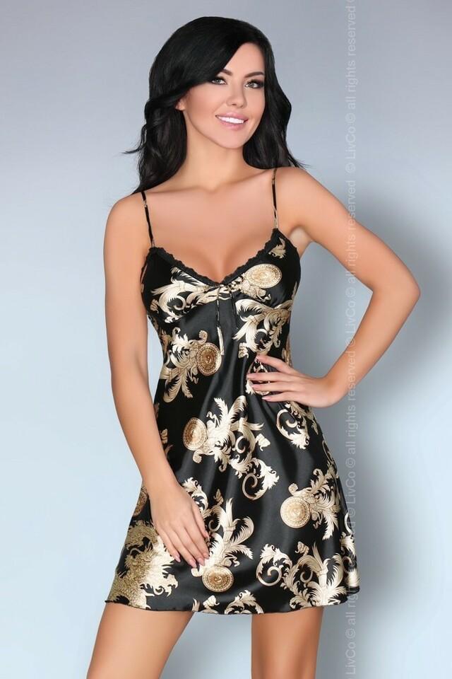 Krásná košilka Dragana - LivCo Corsetti - M - camel