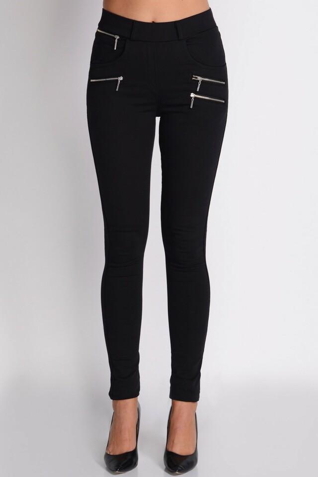Dámské kalhoty Avaro SD-219 - M - černá