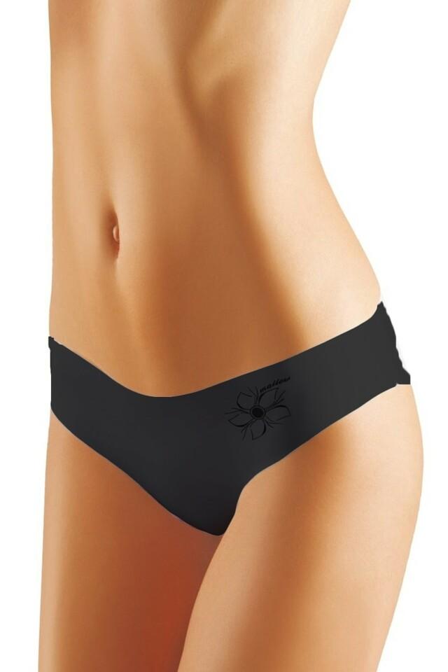 Dámské kalhotky Mallow black - XL - černá
