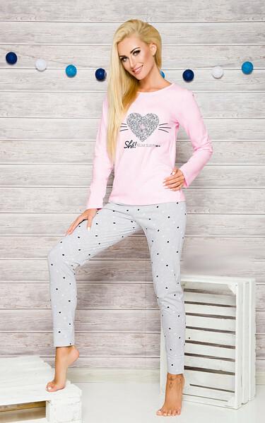 Dámské pyžamo Taro Gala 2113 dl/r S-XL