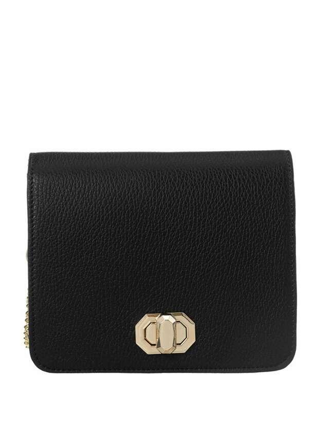 Černá kožená kabelka BADURA - ONE SIZE
