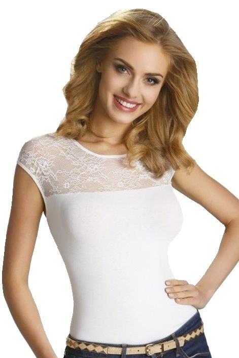 Dámské triko Paulina bílé - M