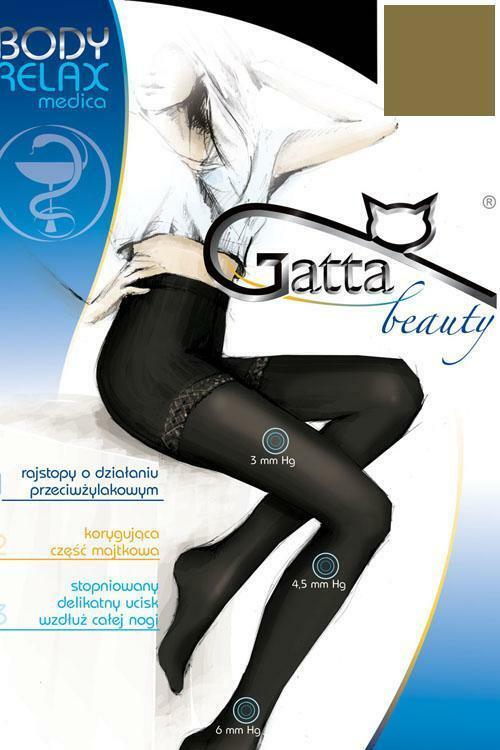 Punčochové kalhoty Gatta Body Relaxmedica 40 - 2-S - grafitová