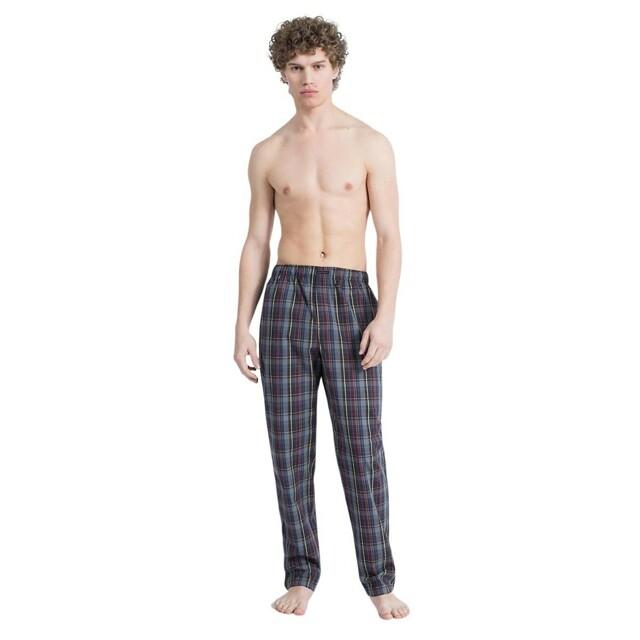 Pánské kalhoty noční NM1517E-7HJ- Calvin Klein - XL - modrá