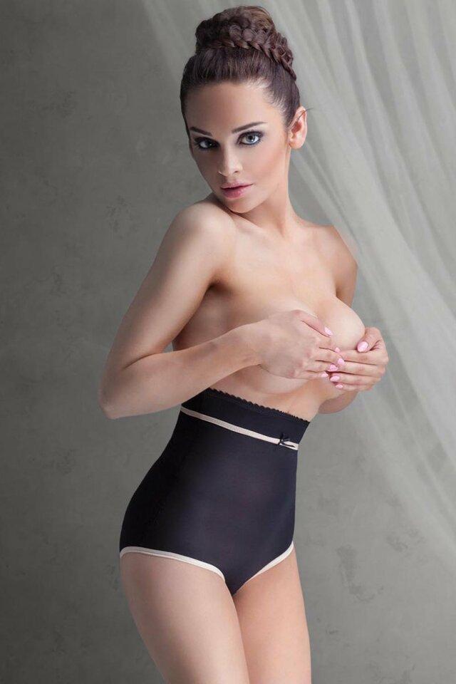 Stahovací kalhotky Impress - Mitex - XL - černá
