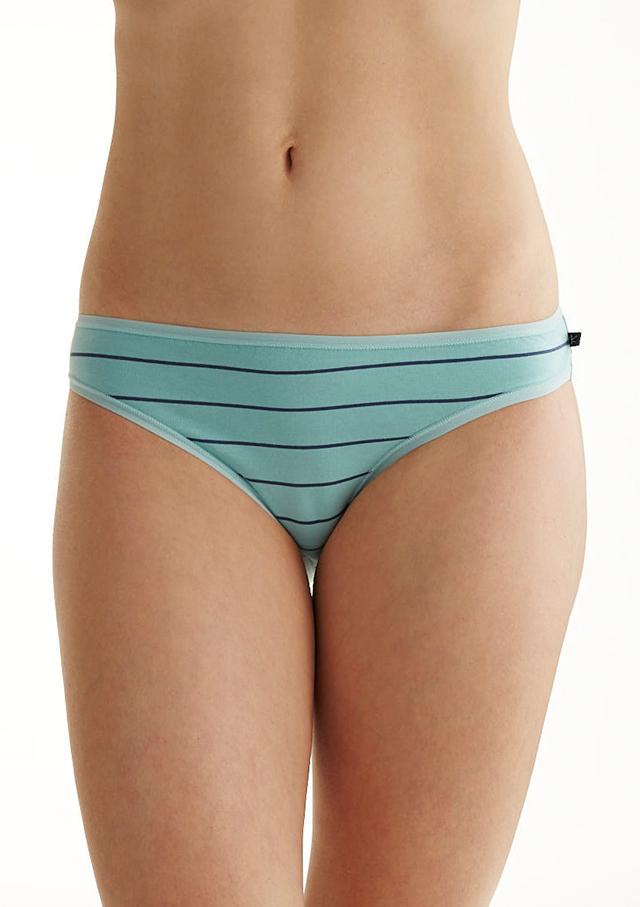 Dámské kalhotky Key LPR 361 B8 A'2 - XL - tmavě modrá-meruňková