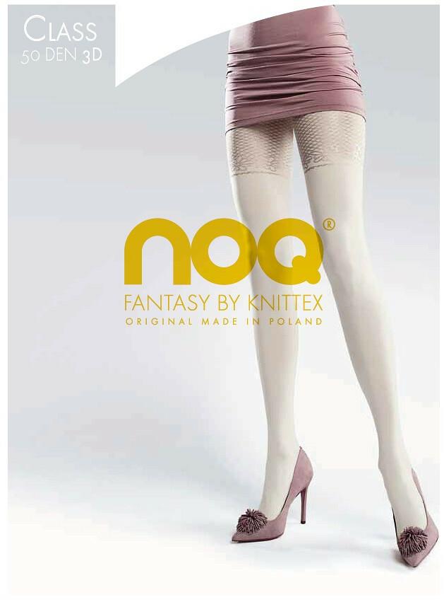 Punčochové kalhoty Knittex Noa Class 3D 50 den - 2-S - černá