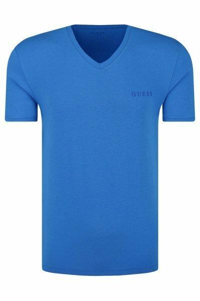 Pánské tričko U92M07JR041 modrá - Guess - M - modrá