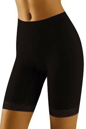 Dámské nohavičkové kalhotky Rona černé - XXL