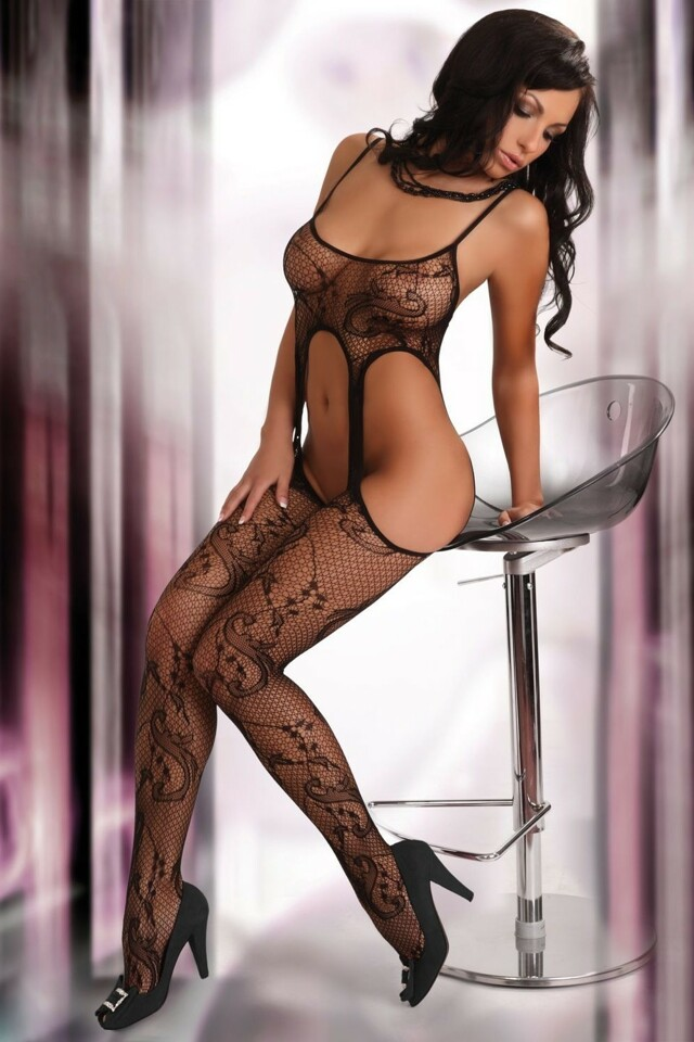 Bodystocking Praline XXL