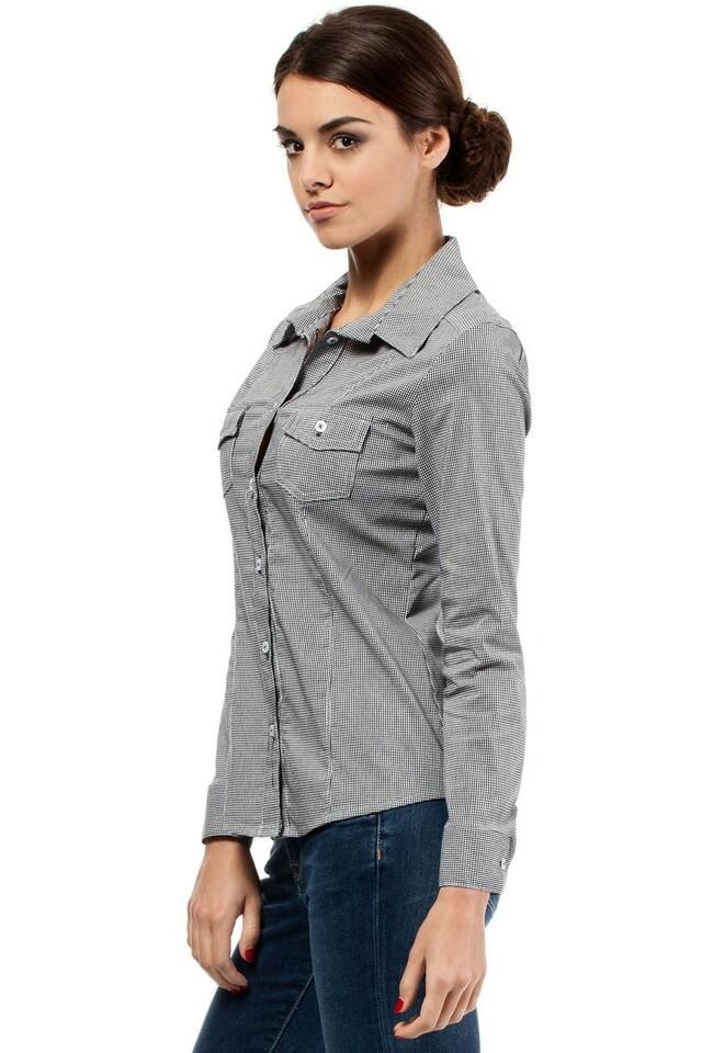 Dámská košile MOE019 - Moe - XL - šedá