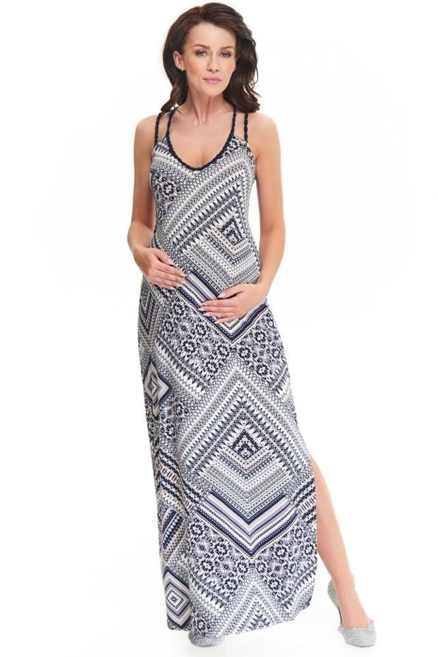 Maxi šaty Marion se vzorem - XS