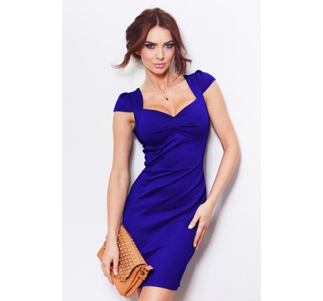 Dámské šaty SF45763 - Numoco - XL - modrá