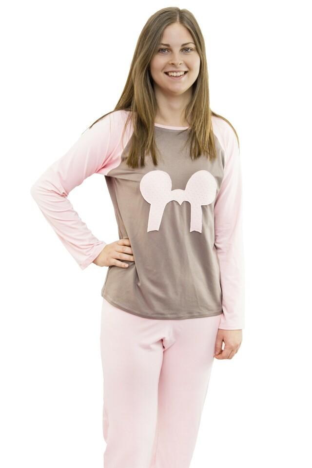 Dámské pyžamo z viskózy Sofie růžové - M