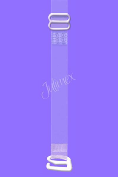 Silikonová ramínka Julimex RT 04 - UNI - stříbrná