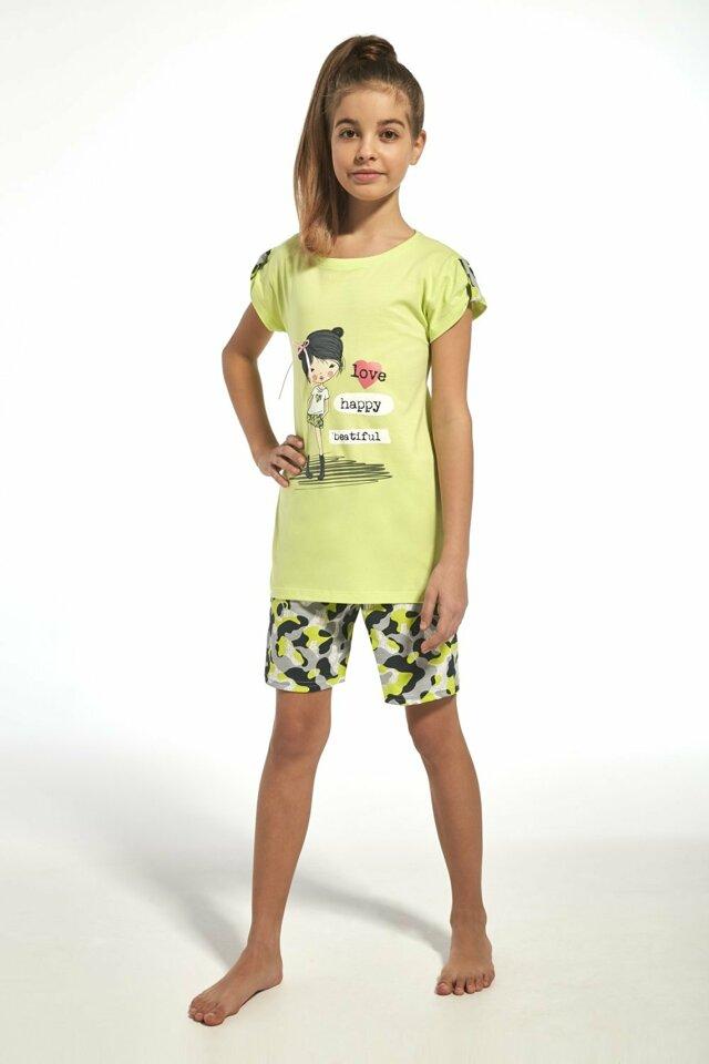 Dívčí pyžamo 243/62 Kids girl - 86/92 - seledýnová