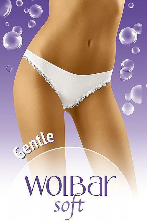 Bavlněné kalhotky Wol-Bar Soft Gentle - M - černá