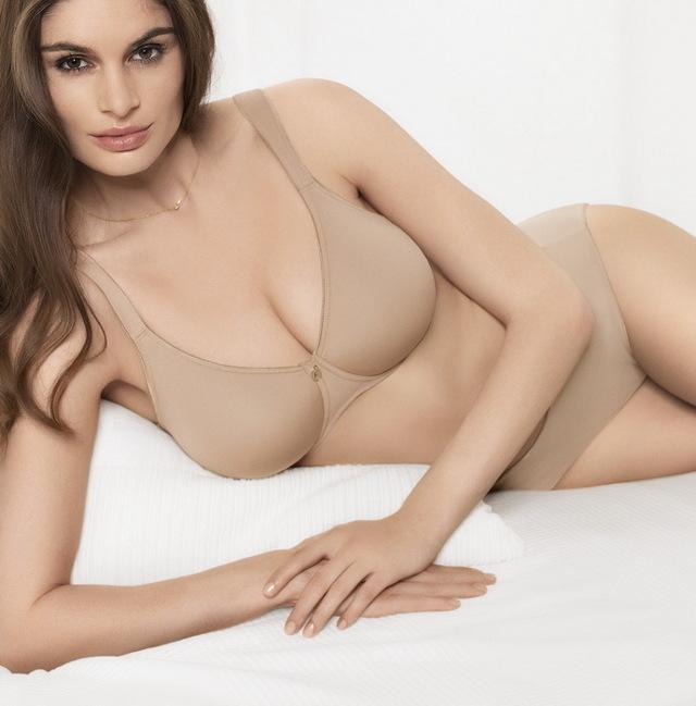 Podprsenka bez kostice 207201 - Felina - 85D - tělová
