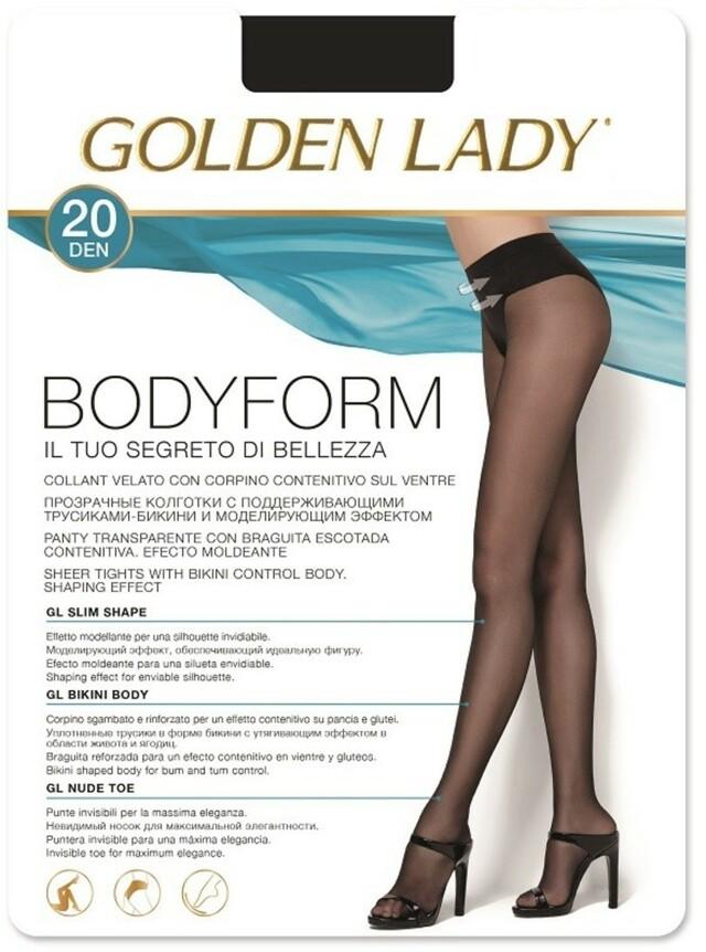 Dámské punčochové kalhoty Body Form 20 - GOLDEN LADY - fumo - 2