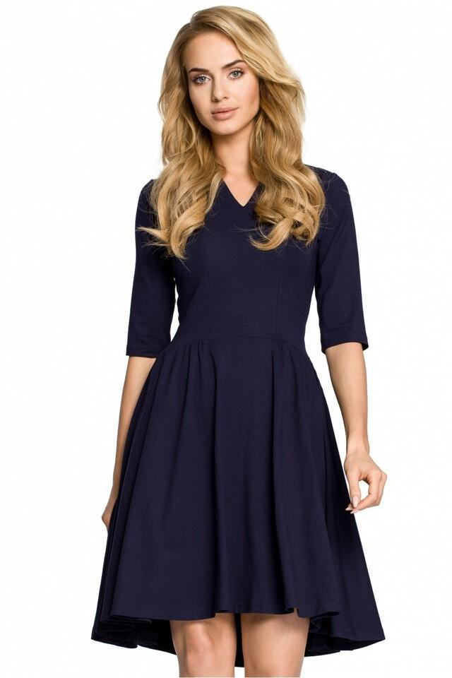 Dámské šaty 93500 - MOE - L-40 - granátová 4c2e8a25e8