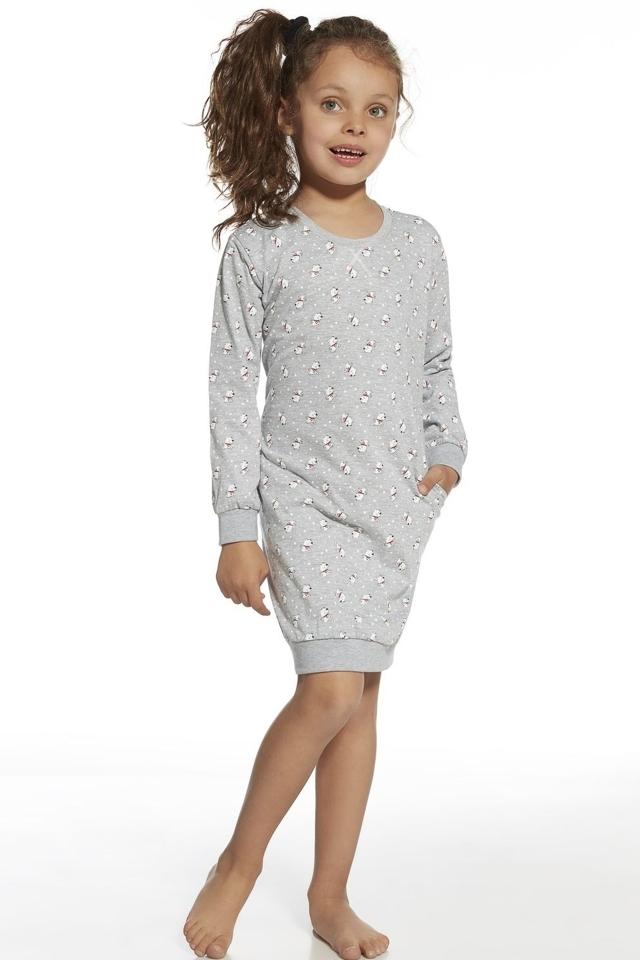 Dívčí noční košile 943/73 White Bear - 158/164 - melanž