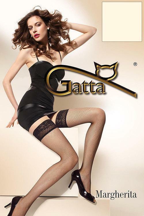Punčochy Gatta Margherita 01 - 1-2 - béžová