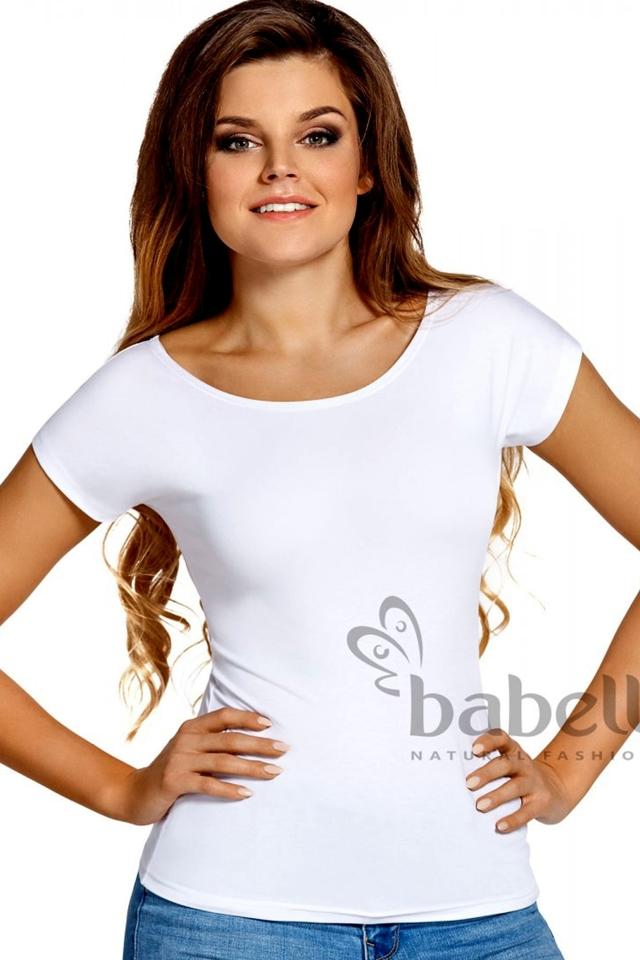 Dámské tričko Kiti plus white - 3XL - bílá