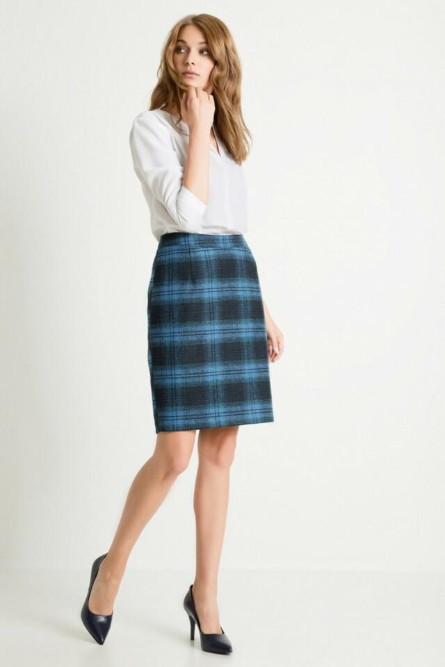 Dámská sukně 79482 - Greenpoint - 44 - modrá