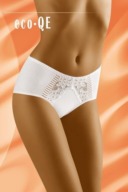 Dámské kalhotky eco-Qe white - L - bílá