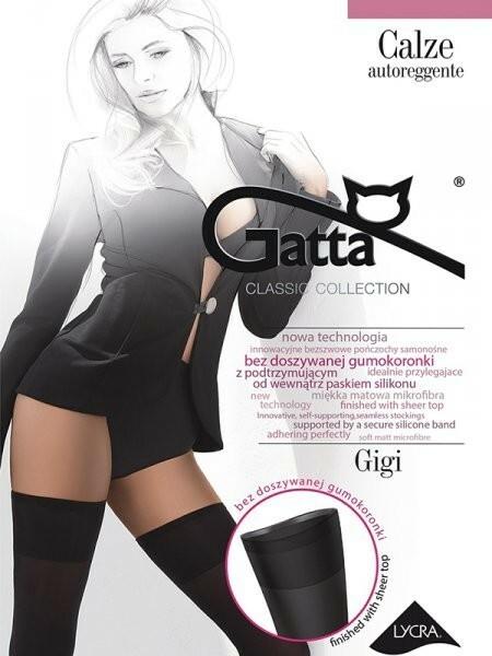 Samodržící punčochy Gigi 05 - Gatta