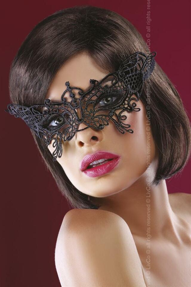 Maska Model 14 - LivCo Corsetti - uni - černá
