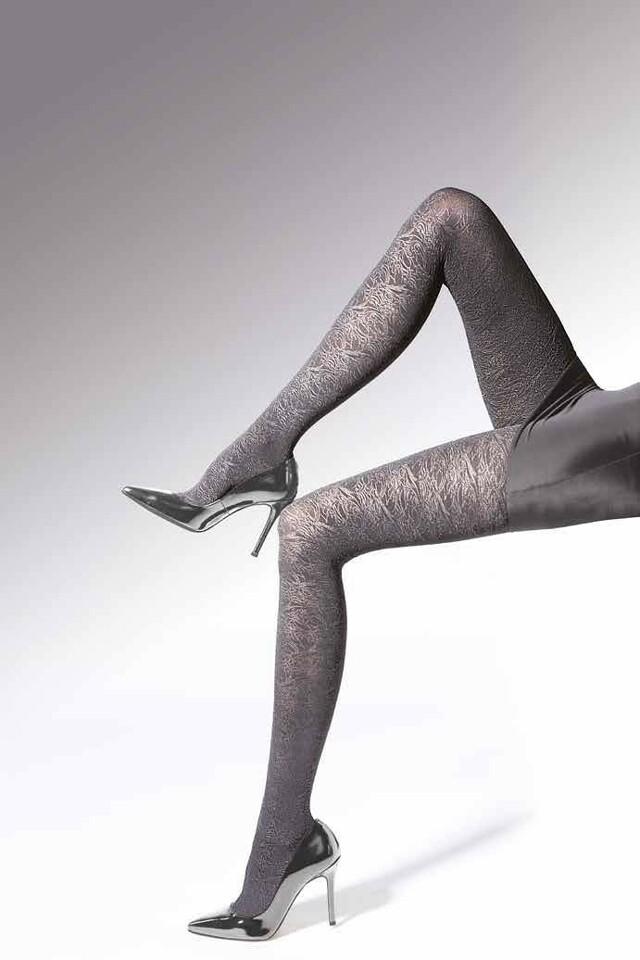 Punčochové kalhoty Knittex Noa Luxury 3D 50 den - 2-S - okrová