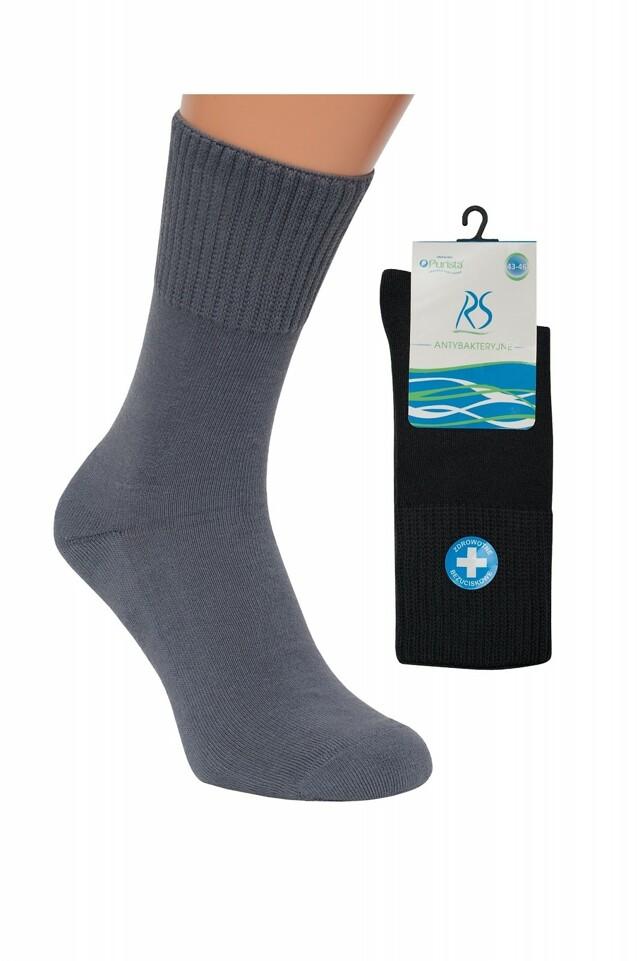 Pánské ponožky Regina Purista Antibakteriální Frotte - 43-46 - šedá 0d6470f957